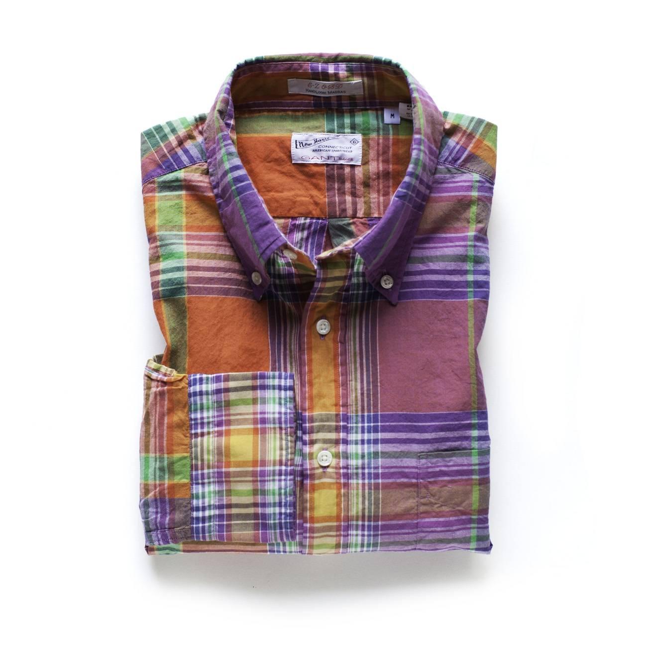 Gant Shirt_Handloom Madras