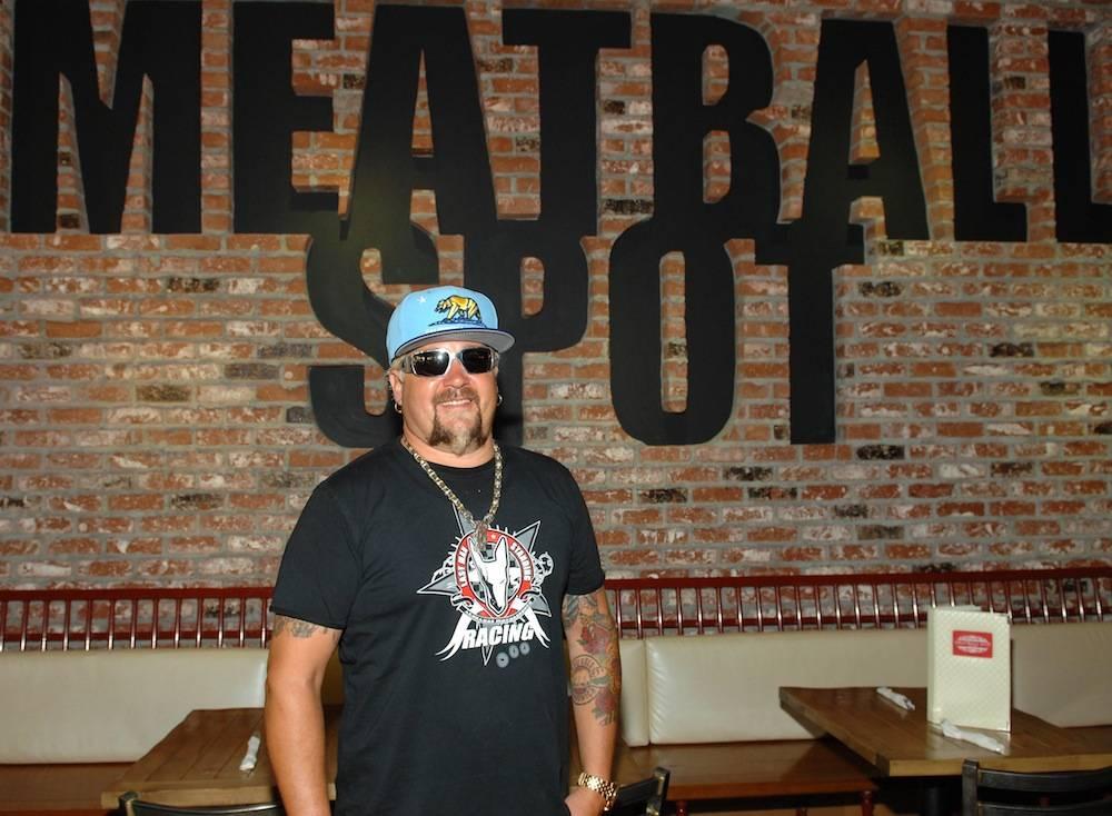 Guy Fieri at Meatball Spot. Photos: Bryan Steffy/WireImage