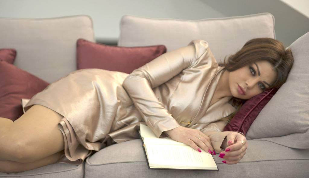 Haifa Wears Sally Hansen