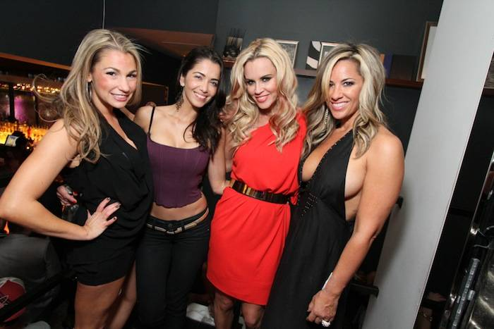 Jenny McCarthy and friends at Hyde. Photo: Hyde Bellagio