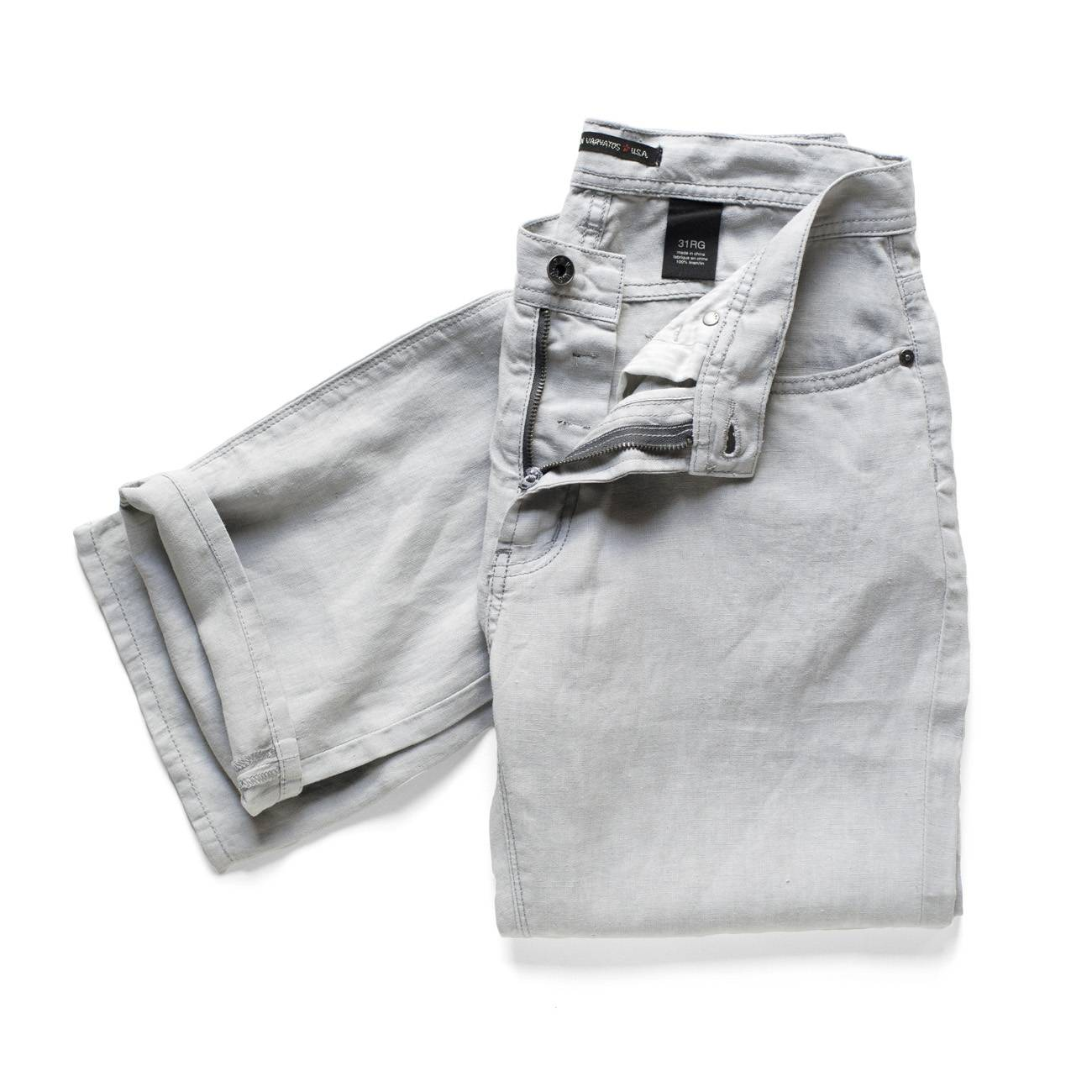John Varvatos Pants_Garment Dyed Linen