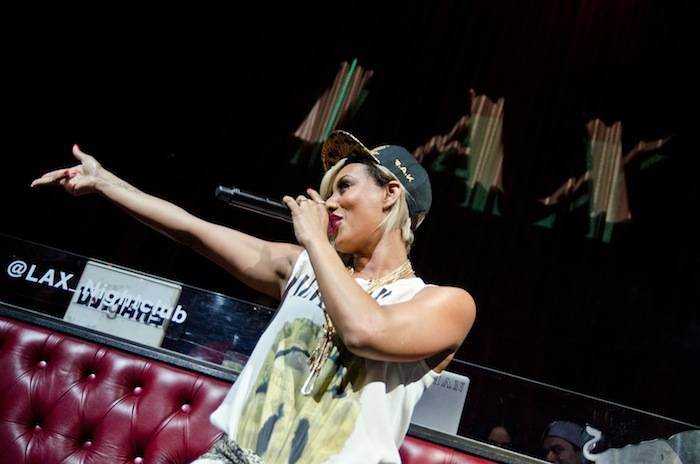 Keri Hilson performs at LAX Nightclub. Photos: Karl Larson/Al Powers Imagery LLC