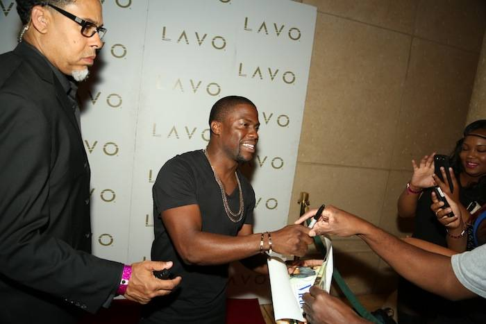 Kevin Hart on the red carpet at Lavo. Photos: Bobby Jameidar/SPYONvegas