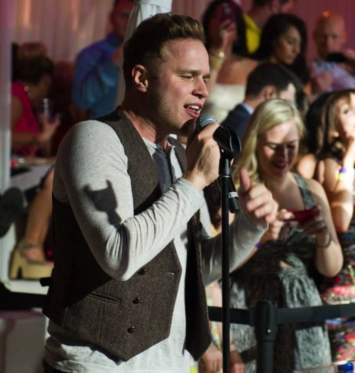 Olly Murs performs at Pure Nightclub. Photos: Brenton Ho/Powers Imagery LLC