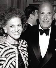 Oscar De la Renta & Annette Engelhard