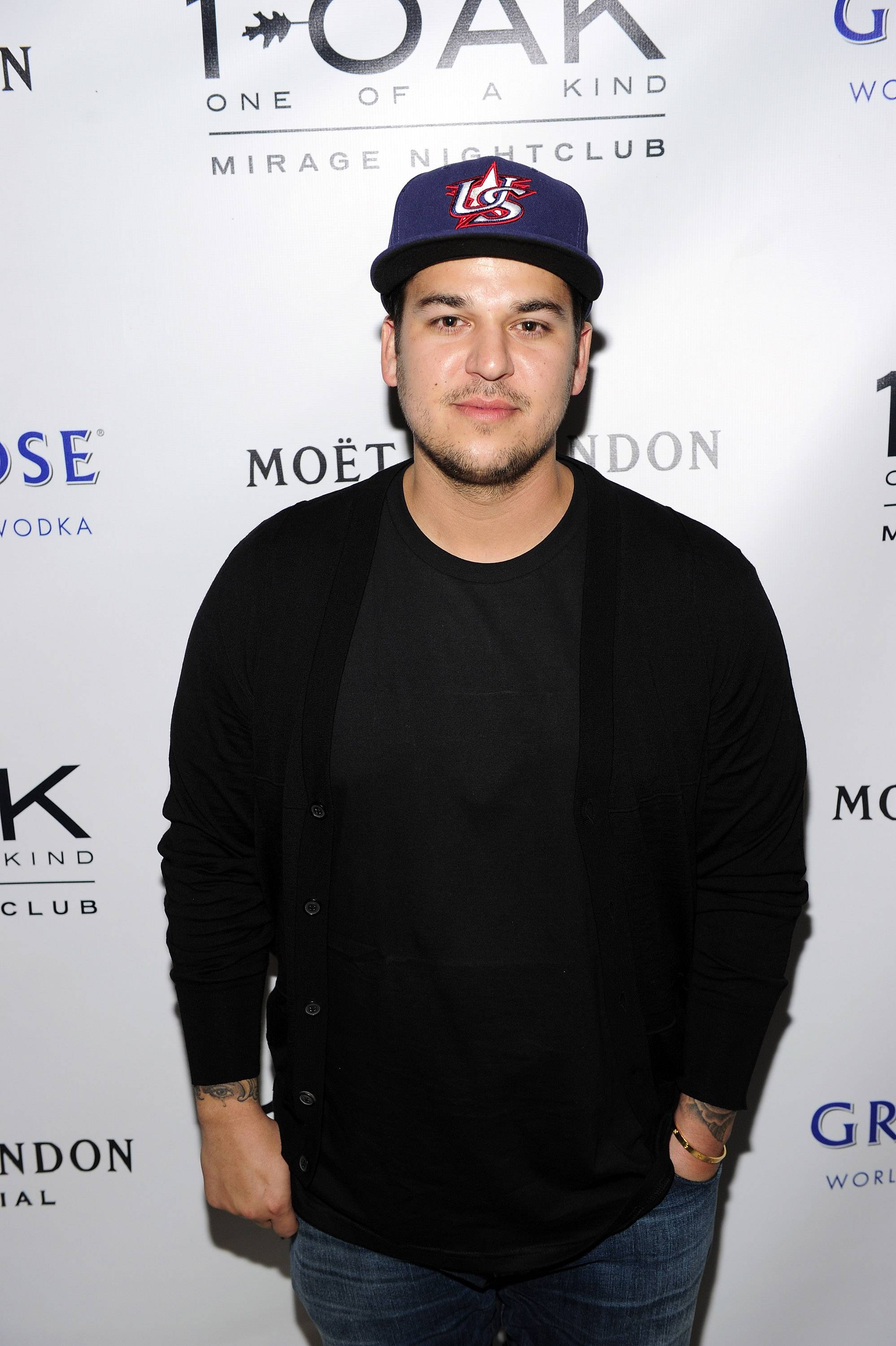 Rob Kardashian at 1 OAK.