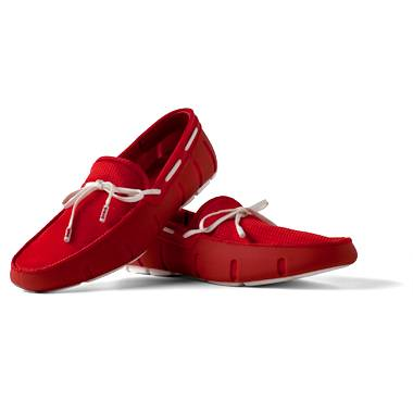 SWIMs_Lace Loafer Red