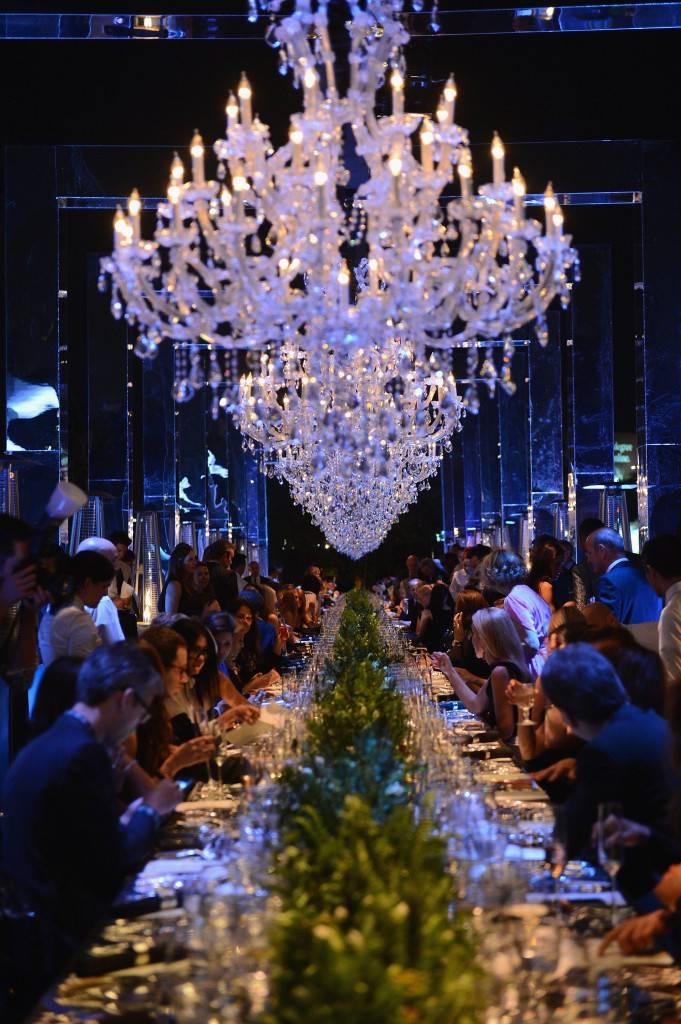 the dinner scene