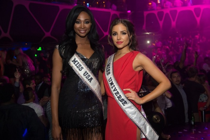 Miss USA Nana Meriwether and Miss Universe Olivia Culpa. Photos: Al Powers/Powers Imagery LLC