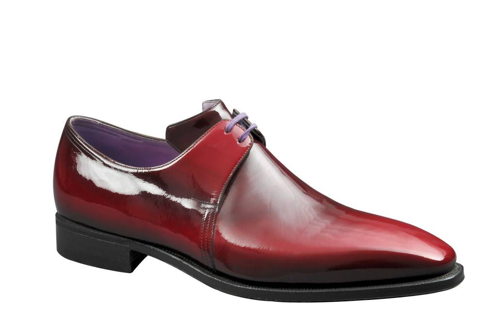 Arca dark red patent- AED 7000