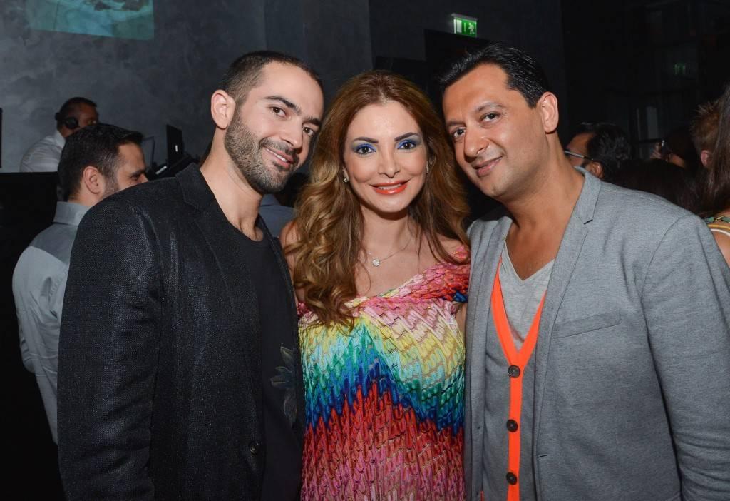 Ayman Fakoussa , Lina Samman and Dipesh Depala