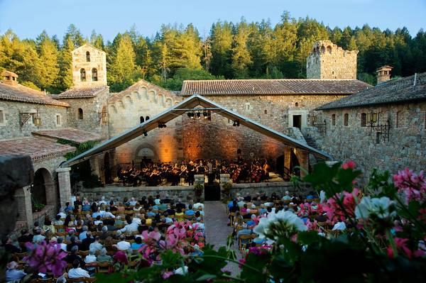 Concert at Castello di Amoroso_Credit Vi Bottaro-M