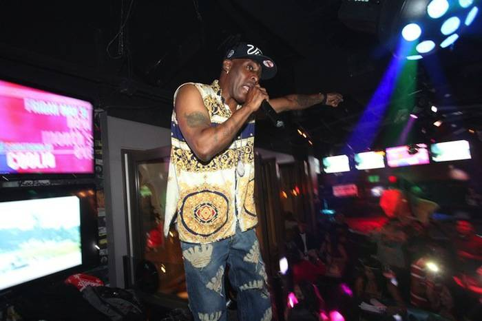 "Coolio performs ""Gangsta's Paradise."" Photos: Bobby Jameidar"