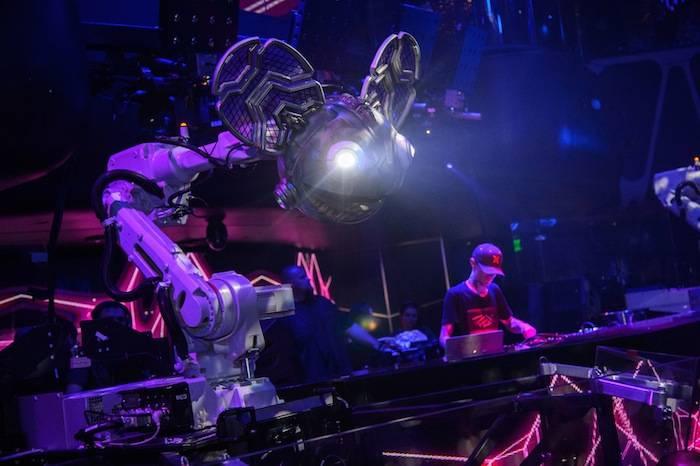 Deadmau5 at Hakkasan. Photos: Al Powers/Powers Imagery LLC