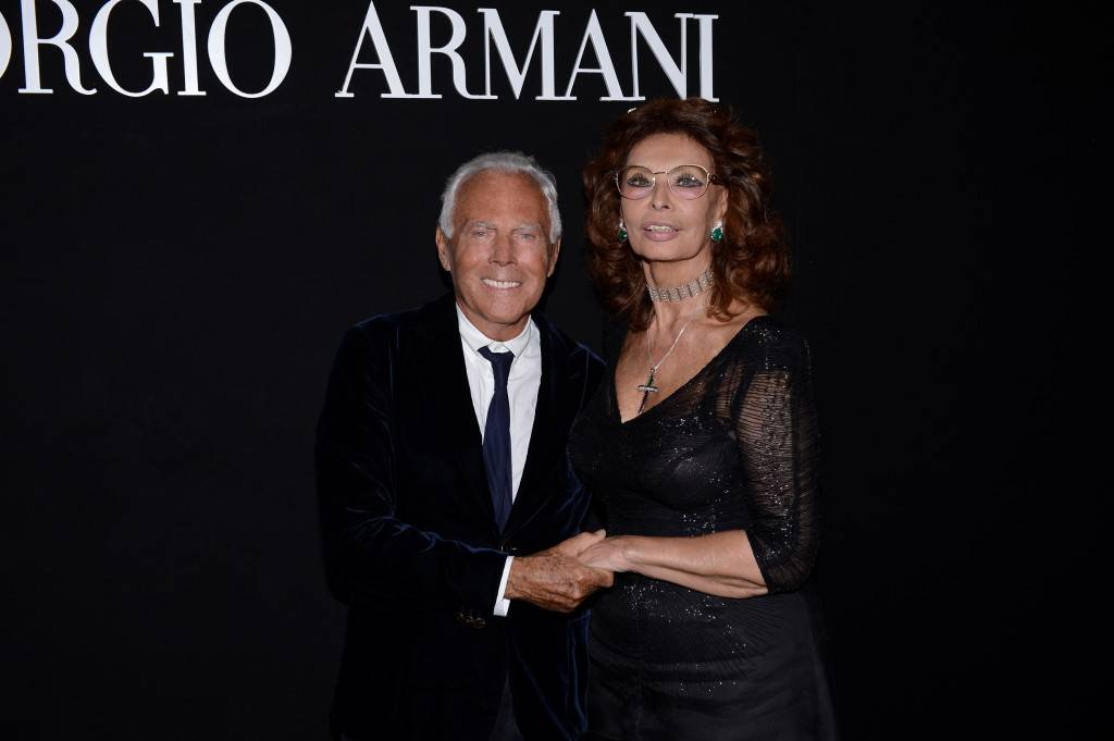 Giorgio Armani_Sophia Loren