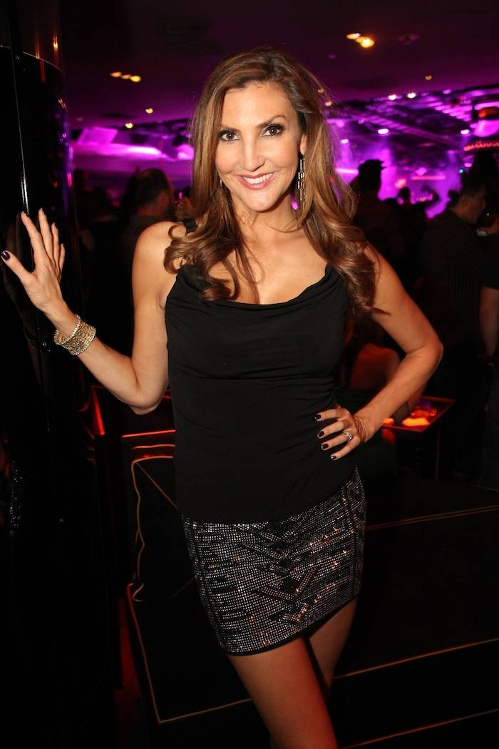 "Heather McDonald from ""Chelsea Lately"" at 1 OAK. Photo: The Light Group"