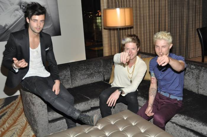 Hot Chelle Rae in a penthouse at the Golden Gate. Photos: D Las Vegas