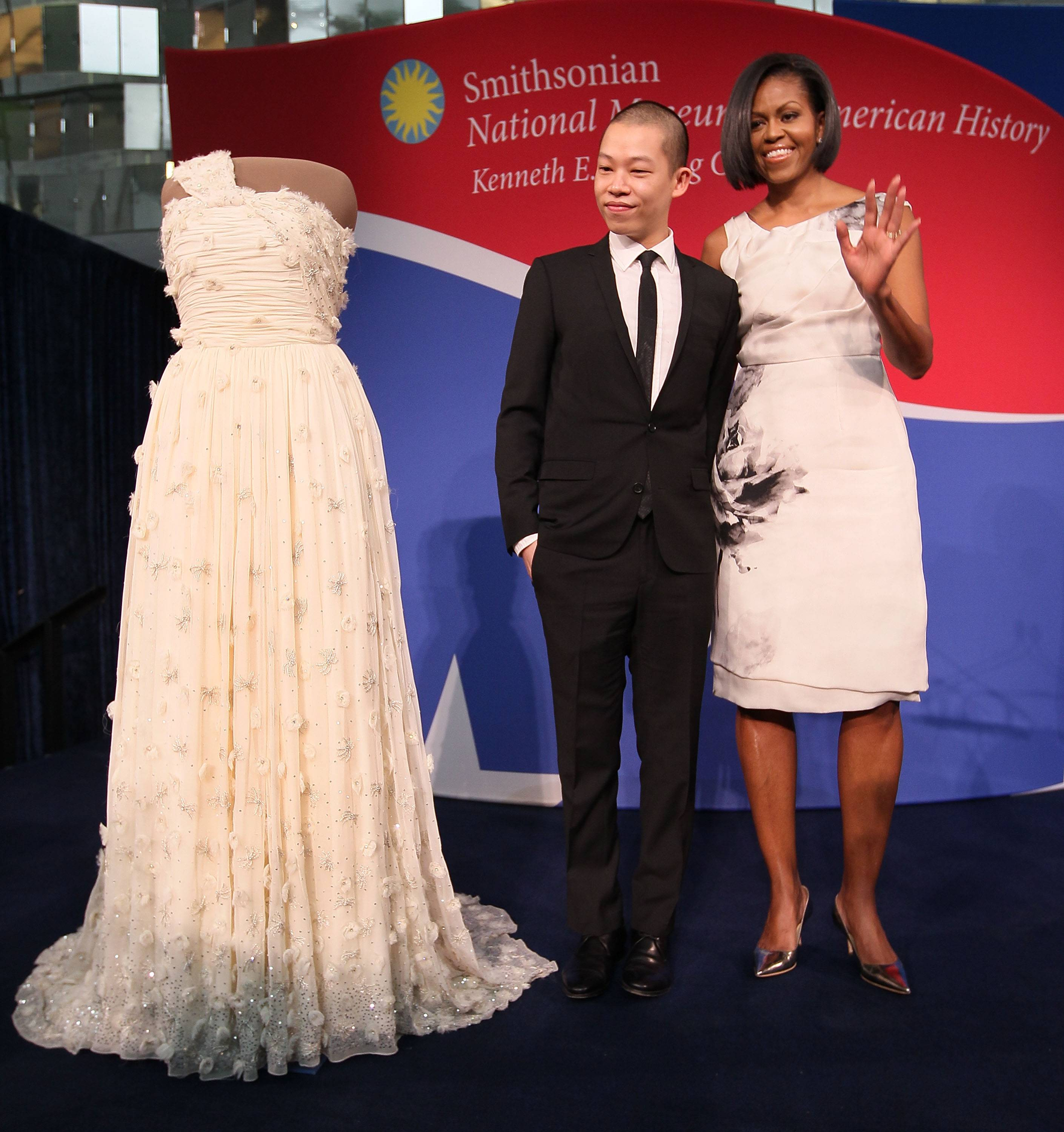 First Lady Michelle Obama Donates Her Inaugural Gown To The Smithsonian