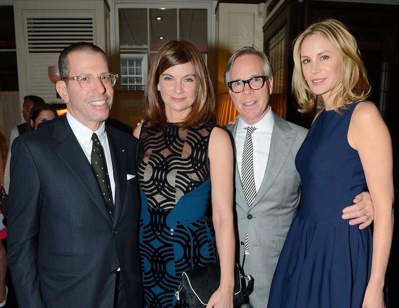 Jonathan Newhouse, Natalie Massenet, Tommy Hilfiger and Dee Ocleppo