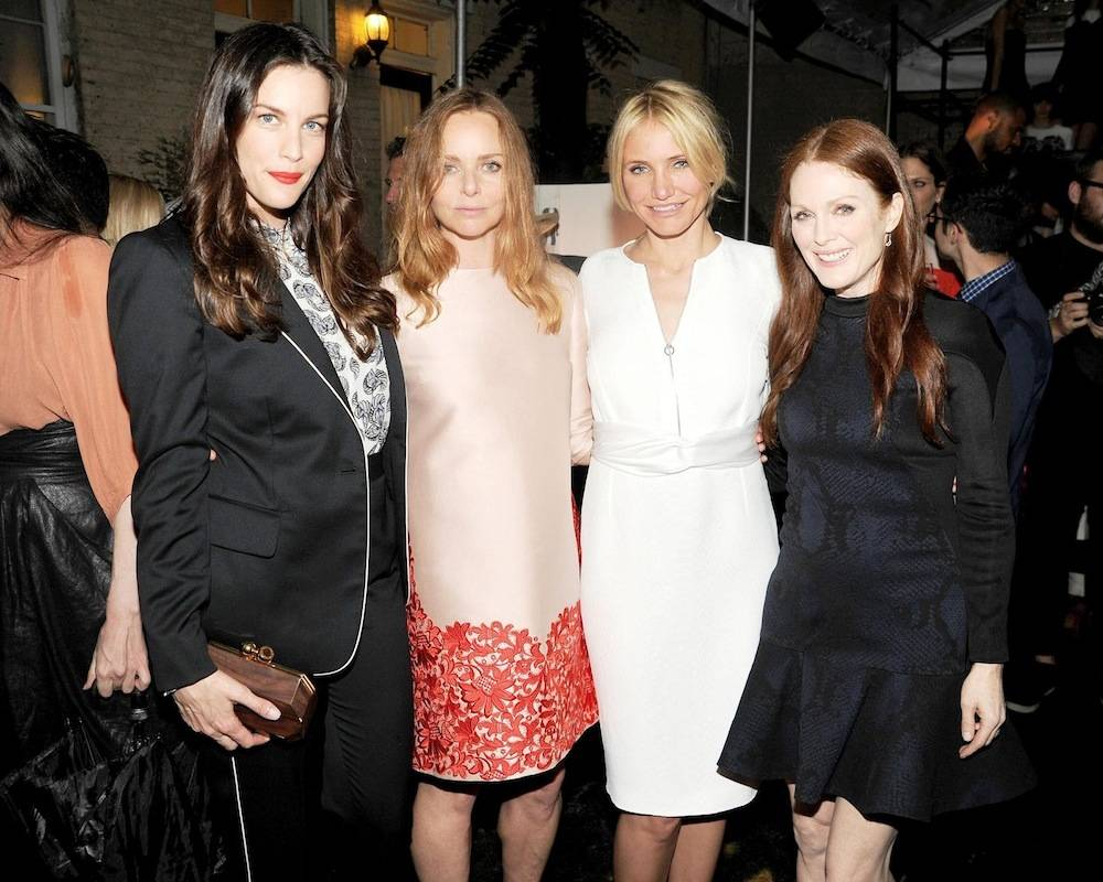 Cameron Diaz, Stella McCartney, Liv Tyler, Julianne Moore