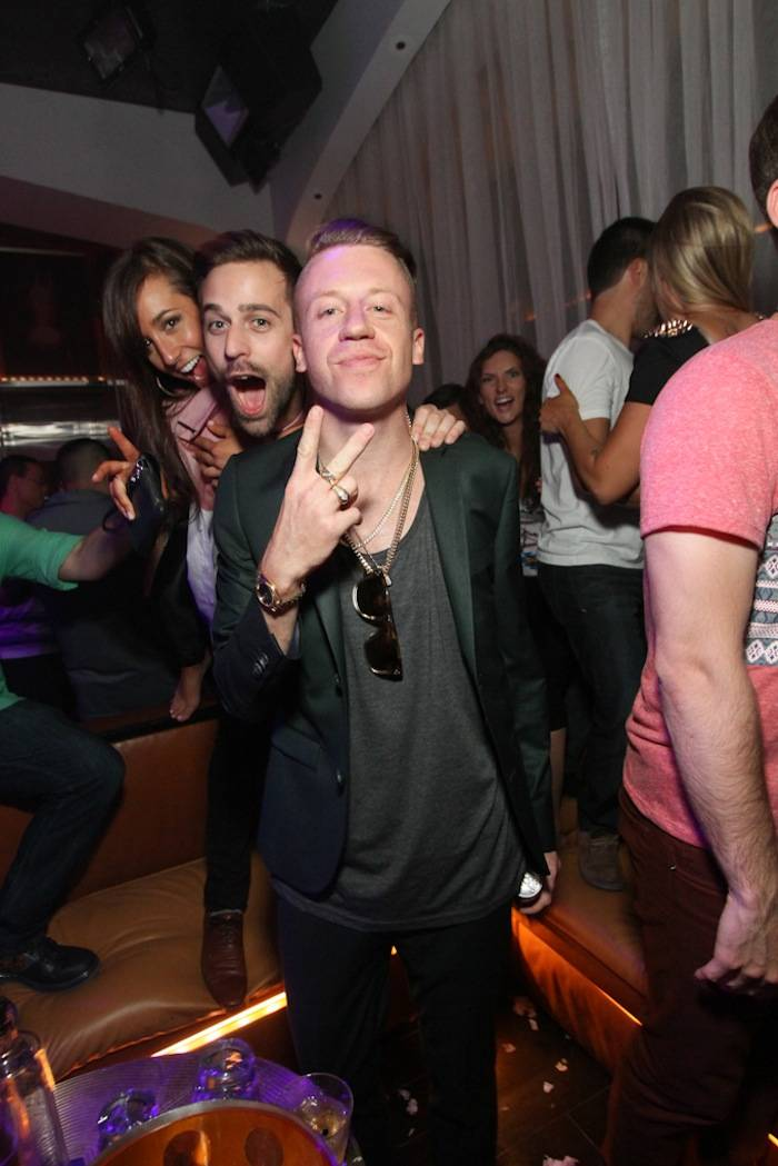 Macklemore and Ryan Lewis at Hyde Bellagio. Photo: Hyde Bellagio