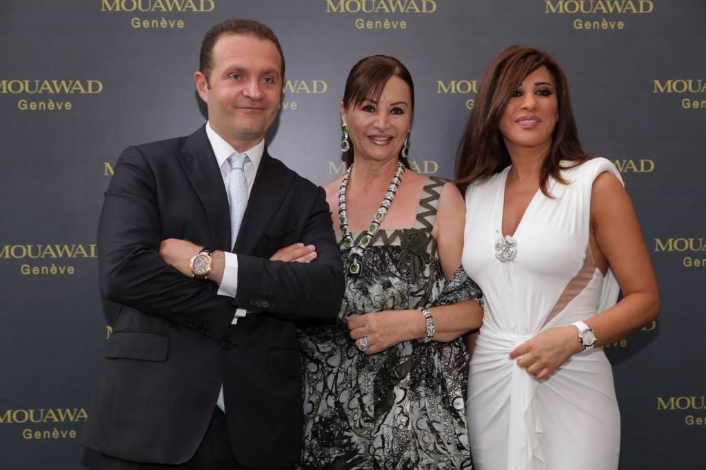 Mr. Pascal Mouawad, Mrs. Laila Mouawad & Najwa Karam