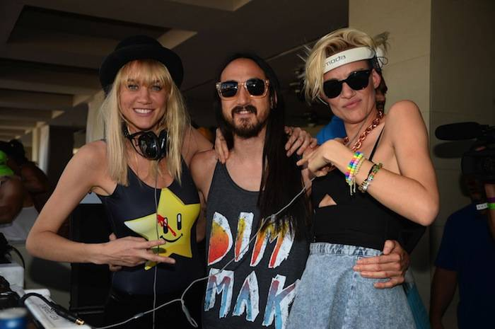 Nervo and Steve Aoki at Wet Republic. Photos: Al Powers/Powers Imagery LLC