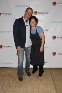 Michel Nischan and Stephanie Izard.