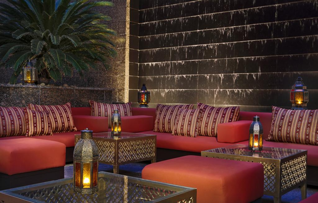 Sunken Garden at Ritz-Carlton, DIFC