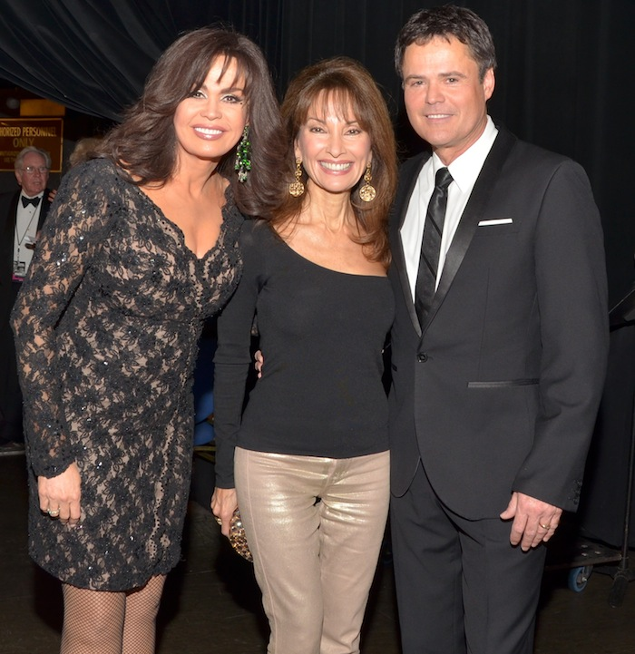 Marie Osmond, Susan Lucci and Donny Osmond. Photo: Caesars Entertainment