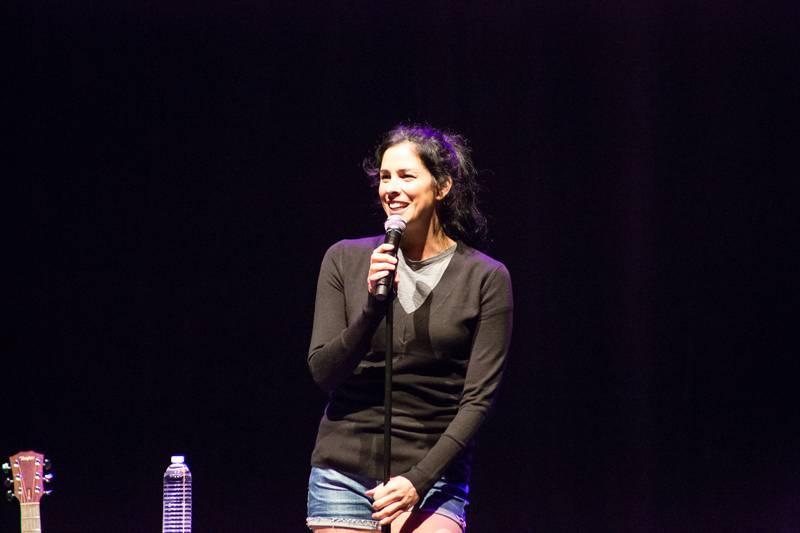 Sarah Silverman performs at the Pearl at the Palms. Photos: Ed Graff