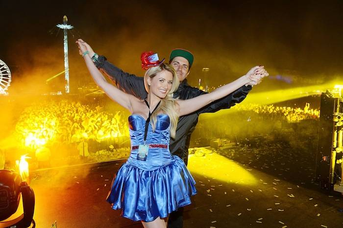 Holly Madison and Pasquale Rotella at Electric Daisy Carnival: London 2013. Photos: Denise Truscello/WireImage