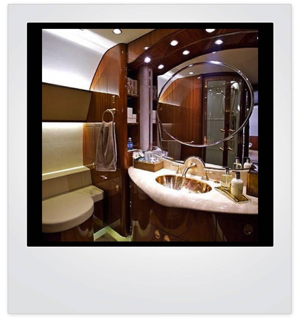 Haute Pic of the Day: Private Jet Vanity - Haute Living