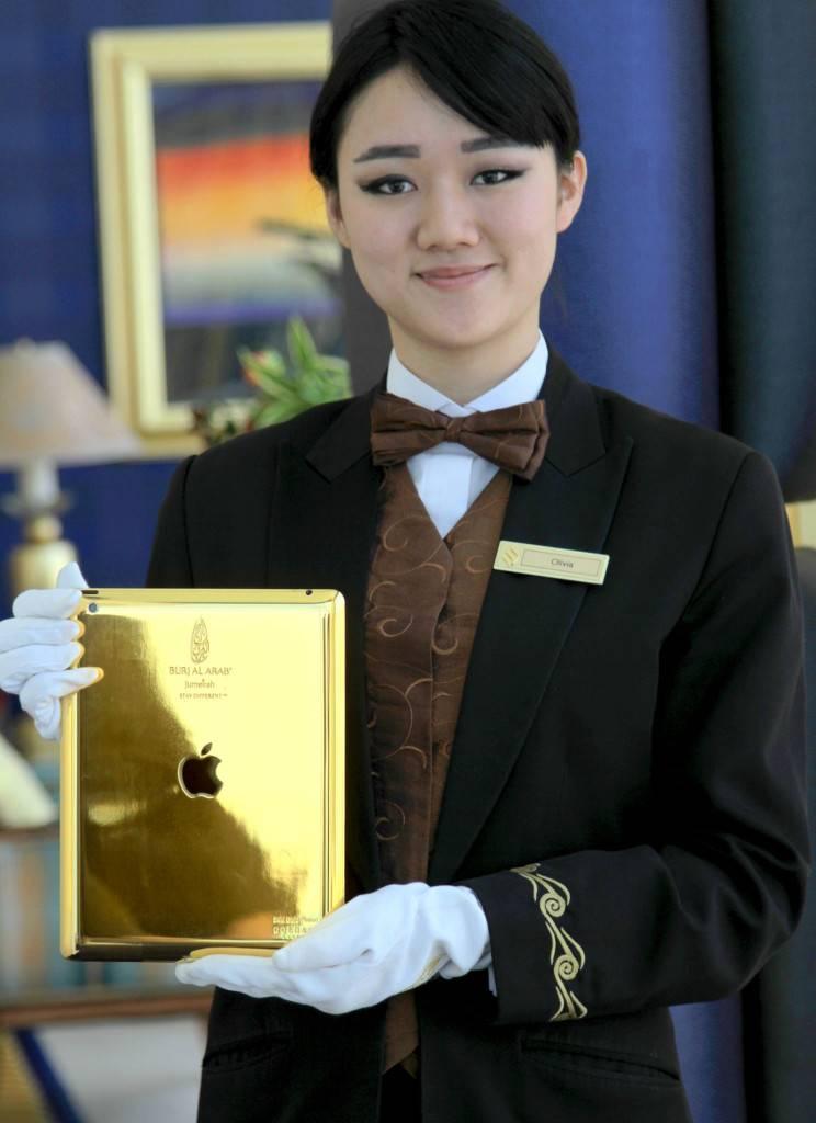 Burj Al Arab - 24-carat gold iPad - 1
