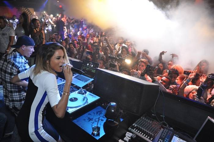 Ciara performs at 1 OAK Nightclub. Photos: The Light Group