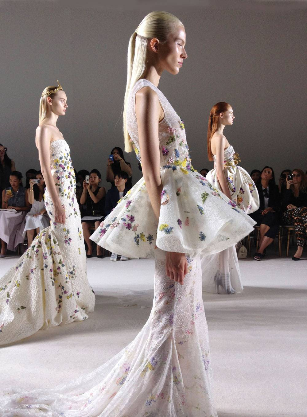 photo courtesy of christine chiu, giambattista valli haute couture f/w 13