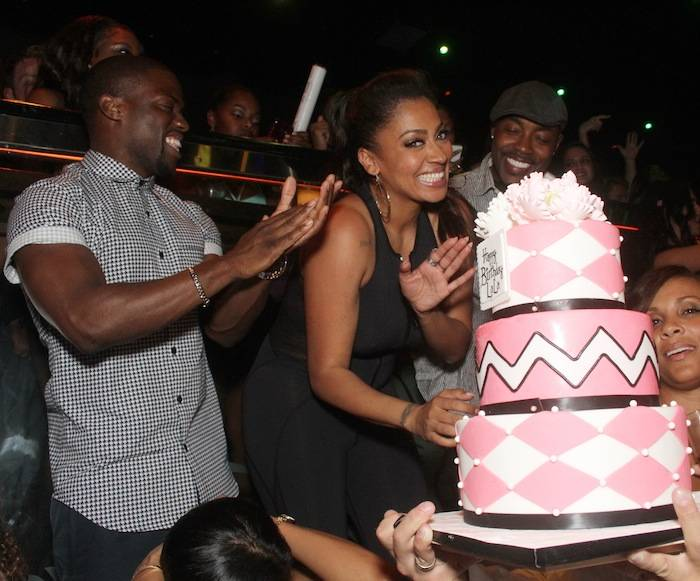LaLa Anthony celebrates her birthday at The Bank Nightclub. Photos: The Light Group