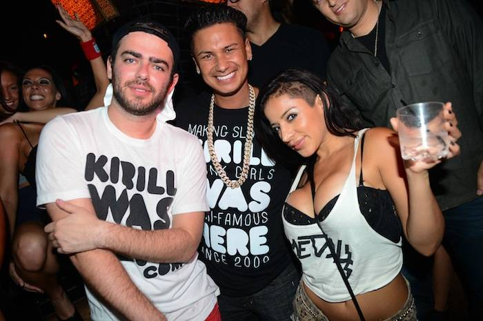 Kirill and Pauly D at Lavo. Photos: Al Powers/Powers Imagery