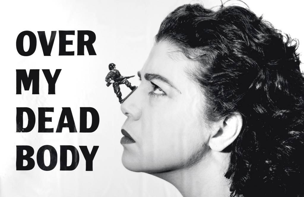 Mona Hatoum. Over My Dead Body. 1988.