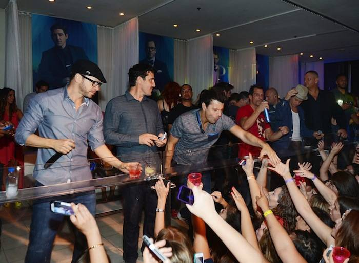 New Kids On the Block at Pure Nightclub. Photos: Denise Truscello/WireImage