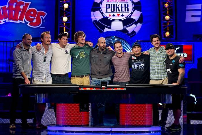 2013 World Series of Poker November Nine. Photo: Joe Giron