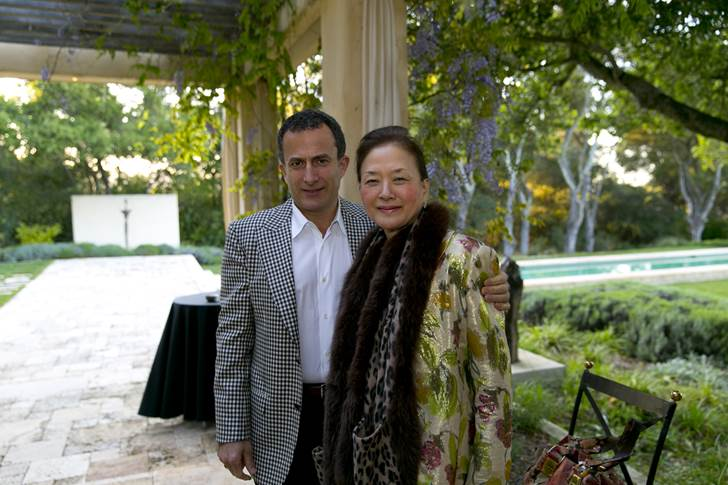 Olivia Hsu Decker and Friend
