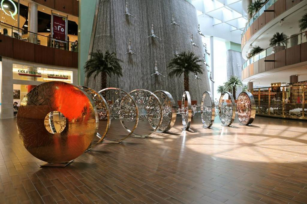 The Dubai Mall - Moon Reflection Exhibition