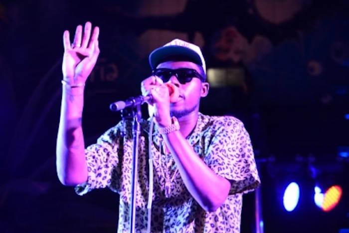 Theophilus London plays the Boulevard Pool. Photos: Toby Acuna