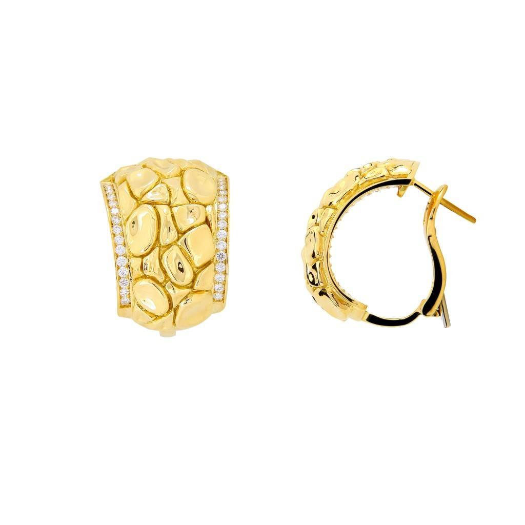 Versace crocodile medusa earring - 48EYGDY13