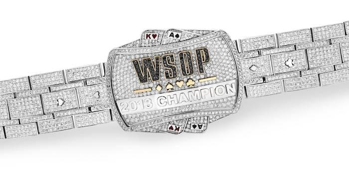 The World Series of Poker bracelet, designed by Jason of Beverly Hills.