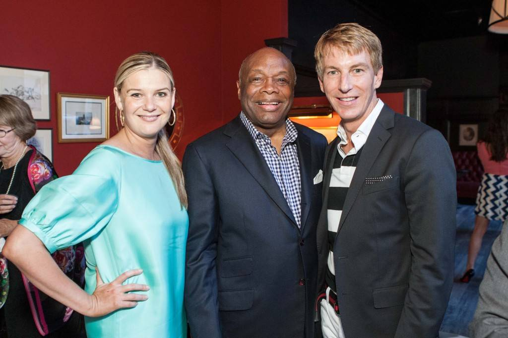 Anna Weinberg, Willie Brown and Jack Calhoun  Credit: Drew Altizer Photography