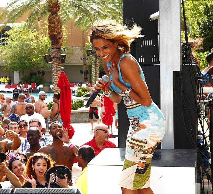 Ciara performs at Ditch Fridays. Photos: Denise Truscello/WireImage