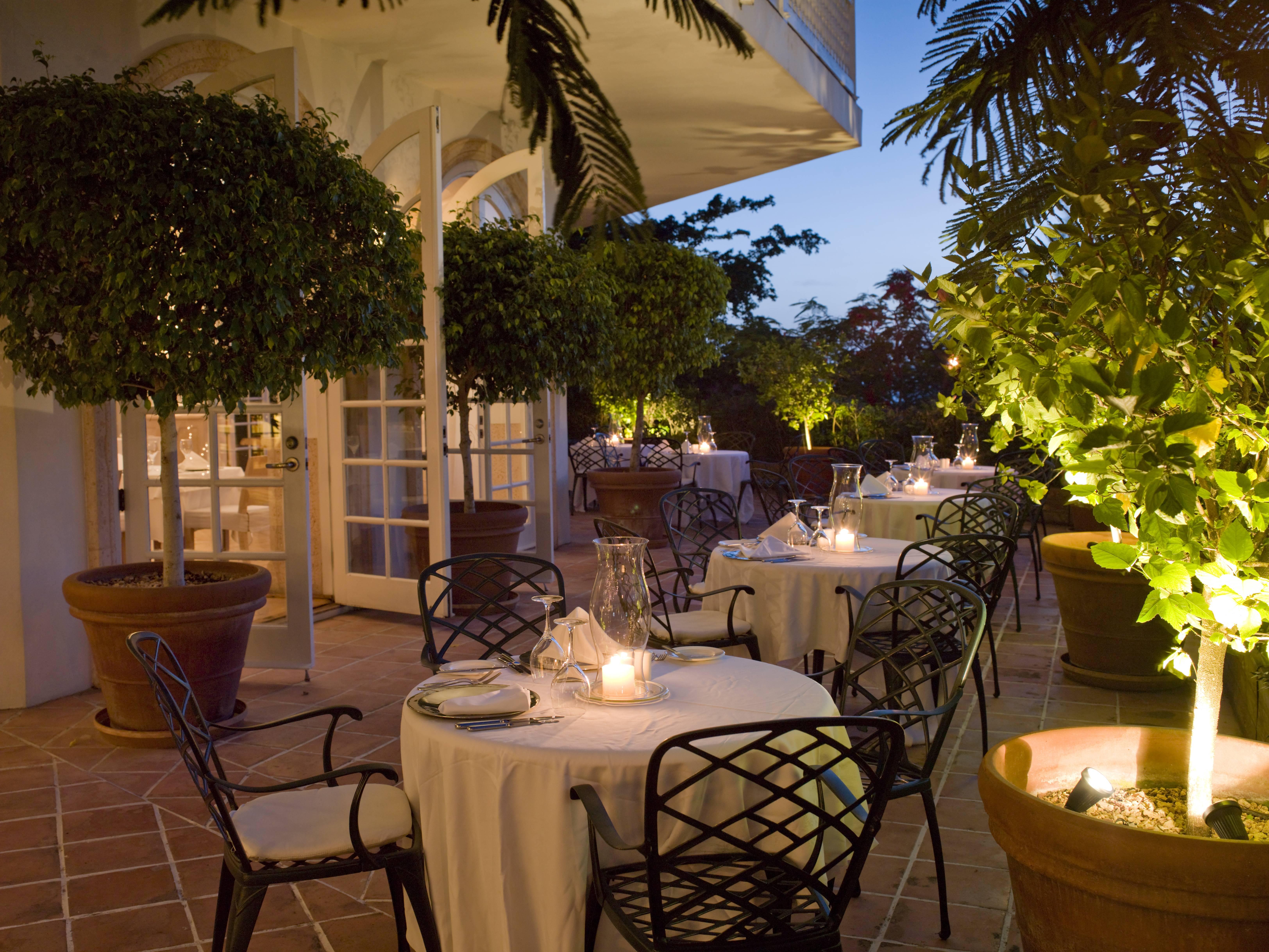 Terrace Restaurant patio