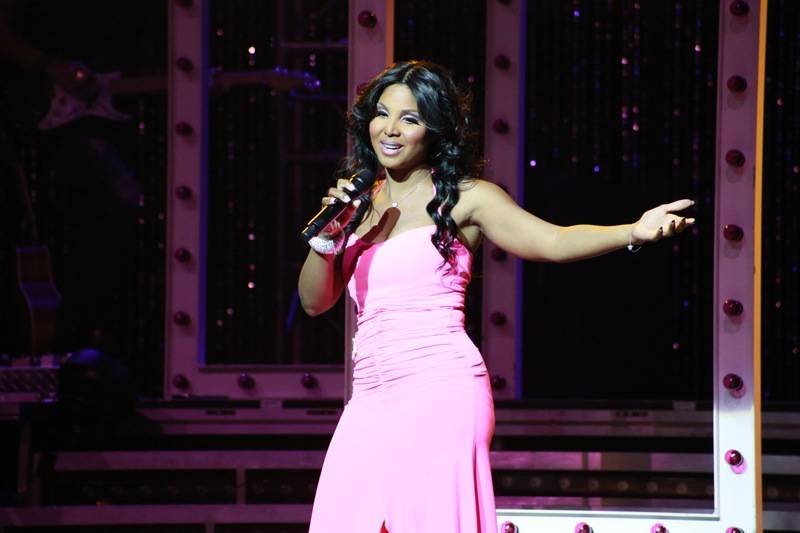 Toni Braxton plays the Pearl at the Palms. Photos: Edison Graff